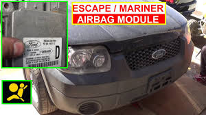Ford Escape Fuse Box - ford escape airbag module removal and replacement how to remove