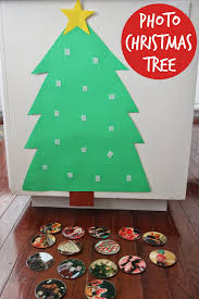 toddler approved build a photo christmas tree for babies u0026 toddlers