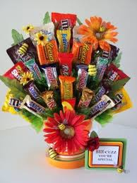 edible birthday gifts happy bee day candy bouquet for a birthday just bee cuz