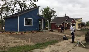 tiny house community in detroit on display in fundraising effort
