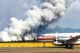 Wildfire Kootenays by Update Cranbrook Airport Running After Closure Due To Wildfires