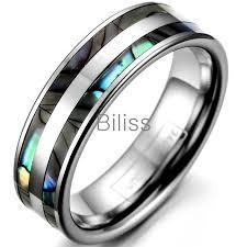 cincin tungsten carbide 6 mm kualitas atas cincin tungsten carbide dengan ganda shell