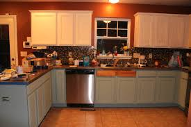 Repainted Kitchen Cabinets Repaint Kitchen Cabinets Should I Paint Design Inspiration