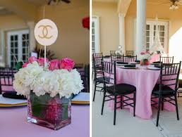 Paris Centerpieces Ingris U0027 Paris Inspired Bridal Shower In Miami Luis Vargas