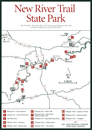 virginia state parks map sherpa guides virginia mountains river trail state park