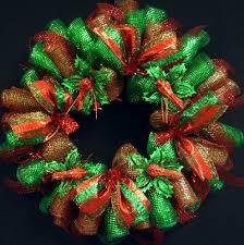 christmas mesh wreaths emerald green christmas wreath deco mesh wreaths item 1208