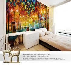 livingroom restaurant aliexpress com buy shinehome large flowery garden neon city