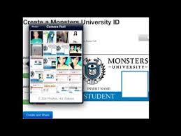 monster university card id inggie quelee
