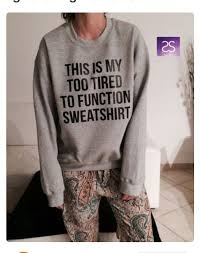 this is my sweater this is my tired to function sweatshirt jumper cool fashion