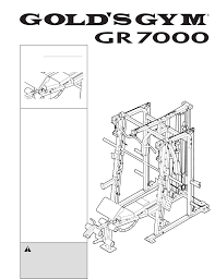 gold u0027s gym home gyms gr 7000 ggbe6974 1 pdf user u0027s manual free