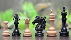 the luxury lot of 5 staunton series chess sets in different woods