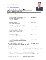 Call Center Resume Sample Without Experience by Cv Aruna Shantha New 4