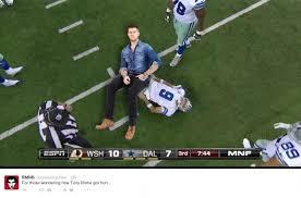 Funny Tony Romo Memes - tony romo s injuries spark hilarious yet cruel memes from fans