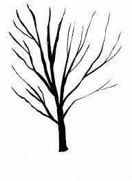 tree drawings black and white free clip free clip