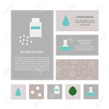 business card templates with medical icons branding elements