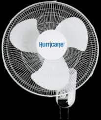 Hurricane 16in Wall Mount Oscillating Fan