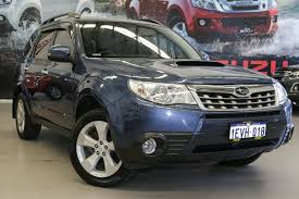 subaru forester ute 2012 subaru forester 2 0d my12 blue for sale in rockingham