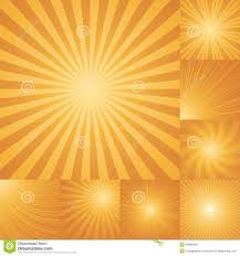 Light Orange Color by Collection Of Orange Color Burst Background Stock Vector Image