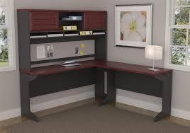 ameriwood furniture pursuit l shaped desk with hutch bundle cherry