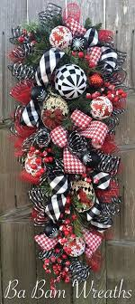163 best wreaths swags images on