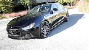 maserati ghibli wheels maserati ghibli with vossen vsf2 wheels and pirelli tires by gmp