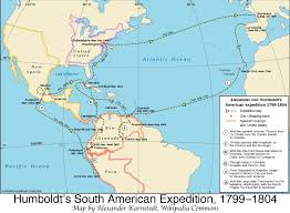 Latin And South America Map by Humboldt U0027s Latin American Expedition