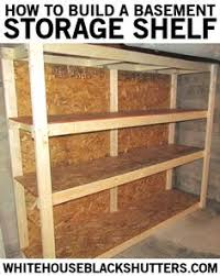 How To Make Wood Shelving Units by Diy Basement Shelving Basement Shelving Wood Grain And Shelving