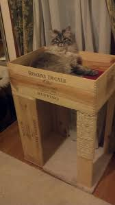 spiffy pet products carpet cover scratching post and wooden crates