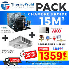 compresseur chambre froide positive cf 15m3akembra complet à 1 359 00 chez thermofroid distribution