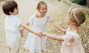 tenue mariage enfant vêtement cérémonie fille et garçon robe tenue cortège