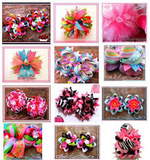 different types of hair bows different types of bows for hair hair