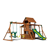 backyard discovery saratoga cedar swing play set sam u0027s club