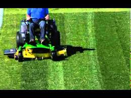 How To Build A Baseball Field In Your Backyard How To Pattern Mow Your Lawn John Deere Youtube