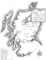 Scotch Whisky Map Scotch Whisky