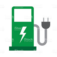 electric vehicles symbol electric vehicle charging station stock vector art 625894462 istock