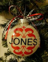 personalized christmas ornament wedding gift first christmas