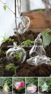 decorative plant pots indoor diy table decoration clear glass ball