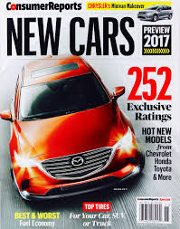 consumer reports new cars november 2016 review u0026 tested 252