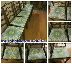 dining table chair reupholstering uncategorized dining room chair reupholstering in wonderful