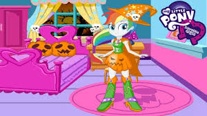 my little pony equestria girls rainbow dash halloween makeover