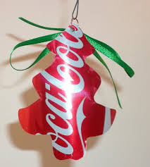 recycled ornaments recycled coca cola tree