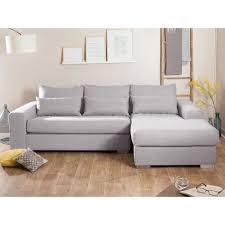 canapé coussins canapé tissu déhoussable d angle fixe coussins déco clemence