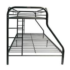 Metal Bunk Bed Frame Acme Furniture Tritan Black Metal Bunk Bed 02052bk