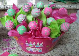 birthday cake pops birthday cake pop arrangement bytes of goodness
