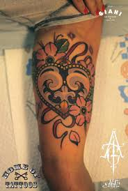 flower heart tattoo by agat artemji best tattoo ideas gallery