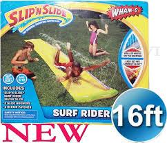 o surf rider backyard fast waterslide slip n slide 16ft long kids