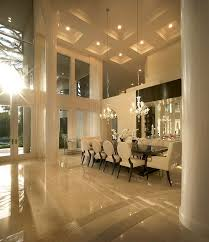 Stunning Dining Room With Beautiful Coffered Ceilings High Gloss - Gorgeous dining rooms