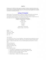 example acting resume actor resume examples 2015 you have to look