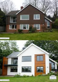 Design For House Renovation Ideas 1960 S Before And After Remodelling Project In Guildford Surrey