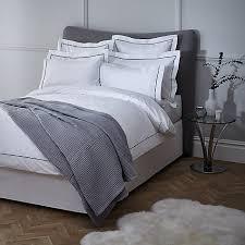 Silentnight Egyptian Cotton Duvet Buy John Lewis Piped Trim 400 Thread Count Egyptian Cotton Bedding